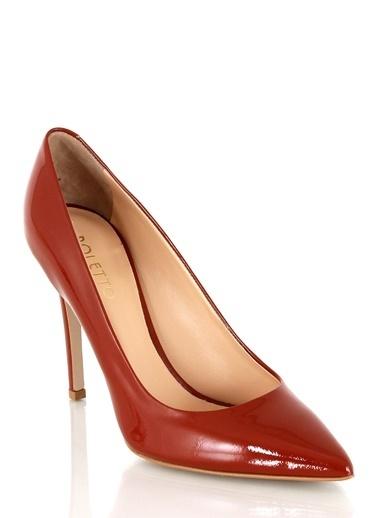 Poletto Stiletto Kırmızı